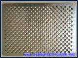 ステンレス鋼のパンチ穴の網