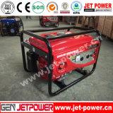 monophasé refroidi à l'air d'engine d'essence de générateur de l'essence 5kw