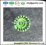 다채로운 양극 처리된 눈 모양 알루미늄 LED 열 싱크 밀어남