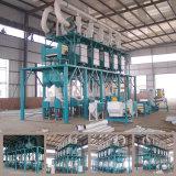 ムギまたはトウモロコシまたはコーンフラワーの製造所機械価格、穀物の製粉機機械(80t)