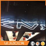 Lettre traditionnelle faite sur commande de signes au néon de tube de verre