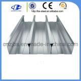Galvanizado a la hoja de revestimientos de suelo de metal corrugado