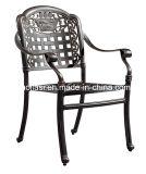 /Rattan al aire libre/silla de la fundición de aluminio de los muebles del jardín/del patio/del hotel y vector de la barbacoa fijó (el &HS 6122DT&HS 5003RC de HS3165C y el CUBO DE HIELO)