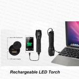힘 은행 (FH-1035R)를 가진 USB 5W 급상승 재충전용 LED 플래쉬 등