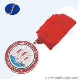 Os religiosos personalizados de alta qualidade honra Medalha de adjudicação com fitas