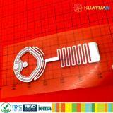 ISO18092 RFID NTAG213 TT NFC 탬퍼 증거 레이블