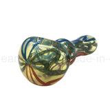 Tubo di vetro del cucchiaio di vendita calda per uso di fumo quotidiano (ES-HP-358)