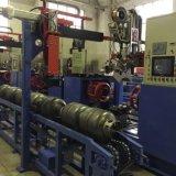 Línea de soldadura circunferencial de la carrocería del cilindro del LPG