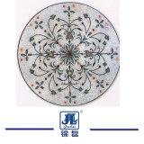 De marmeren Tegels van het Beeld van het Mozaïek en Waterjet Mozaïek, het Marmeren Patroon van het Mozaïek, het Art. van de Vloer van het Medaillon van het Decor