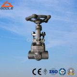 900lb/1500lb API602の標準コンパクトな鋼鉄ゲート弁(GAZ61H/GAZ11H)