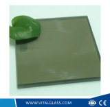 Vetro laminato verniciato/riflettente di Brozne Tempered dorato per il vetro della costruzione (L-M)