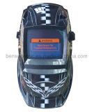 태양 에너지 TIG 자동 어두워지는 용접 헬멧 (BSW-001-7B)