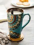도매 형식 최신 판매 변화 색깔 세라믹 커피잔