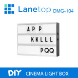 A4 de acrílico Publicidad Cine Cine Caja de luz LED