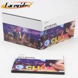 LCD TFT de 4,3 polegadas Facevideo Impressão Colorida Áudio músicas natalinas com placa de vídeo com slot USB