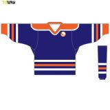 Sublimé des chandails de hockey européen pour la vente