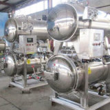 4000L Automatic Double Layer Water Immersion Retort Sterilizer