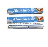 Хорошее качество домашнего хозяйства вальцы из алюминиевой фольги и упаковочная бумага