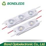 Modulo bianco 3LED IP67 della striscia LED di colore SMD2835