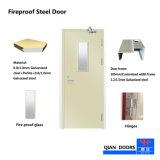 Fs-VV-001 de 2018 BS Cerfiticated puerta de acero ignífugo ignífugo con vidrio de visión