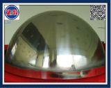 Las bolas de hueco de 10mm y 1200mm de alto pulido acero inoxidable de gran esfera hueca