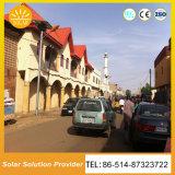 Como la energía solar 8m 60W LED de luz solar calle LED lámpara de la calle con precio competitivo