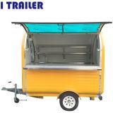 軽食ビジネスのための移動式販売のステンレス鋼のホットドッグのカート