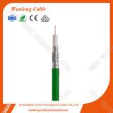 75ohms CATV Tri Shield RG6 (CE, RoHS, CFCP) Câble coaxial