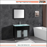 Tapa de cristal de estilo antiguo de la vanidad de baño T9120-24e