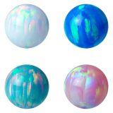 Halfedelstenen van de Goederen van de kwaliteit de Gecreërde Opalen Losse Opalen Laboratorium voor Tegenhanger