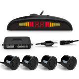 Автомобильный комплект датчика парковки светодиод 4 датчиками 22мм подсветка заднего хода на дисплее резервного копирования системы монитора радара 12V