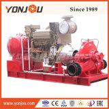 Motor Diesel horizontal de la bomba de la lucha contra incendios