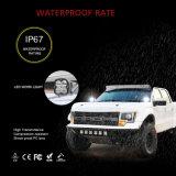 Novo 4.3Inch super brilhante mais barato 40W Praça LED 12V 4X4 ATV Offroad local das Luzes de Trabalho do LED de inundação