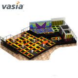Vasia Professional Fabricant Amusement Park Trampoline pour la vente