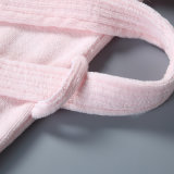100% algodón terciopelo batas de baño para adultos 5estrellas albornoz