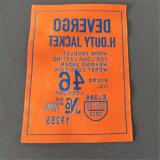 Custom 8*11,5cm etiquetas tejidas Etiquetas Nombre de tejido