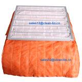 F5 de la eficiencia del filtro de bolsillo naranja