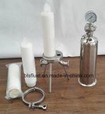 El agua de acero inoxidable SS316 Caja de filtro de cartucho