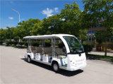 Homologação CE de passeios de carro eléctrico 8 passageiros com Controlador Curtis