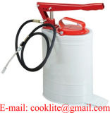 大量の手動ルブリケーターバケツの給油ポンプ手動の修理工- 10L