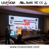 屋内会議のビデオシステムのためのP3.9 LEDのビデオスクリーン