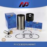 HINO P11C 소형 굴착기 엔진 부품 예비 품목 피스톤 링