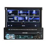 7inch de digitale Intrekbare GPS van de Speler van de Auto DVD van het Scherm van de Aanraking MP5 Radio van de Navigatie FM/Am voor Universele Auto