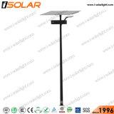 Lámpara LED IP67 de 100W Polo de Iluminación Exterior Solar de la luz de la calle