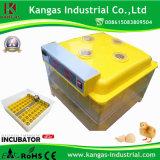 Incubateur de poulet de Digitals d'oeufs approuvés des avoirs 96 de la CE petit