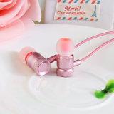Los auriculares bajos profundos metálicos de la manera de los auriculares Eh-203 del en-Oído antideslizantes Anti-Rasguñan el receptor de cabeza