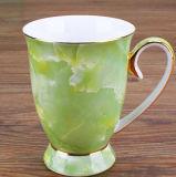 La tazza di tè di ceramica personalizza la tazza di tè della porcellana della tazza del regalo di marchio