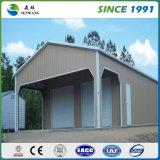 Prefabricate светлый пакгауз стальной структуры