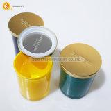 Conteneur en verre de cachette de mémoire de nourriture hermétique en verre ronde de chocs