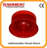 Dispositif d'alarme visuel accessible de signal d'incendie, rouge (640-003)